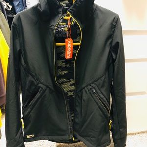 Superdry Softshell Athletic Jacket (NWT)